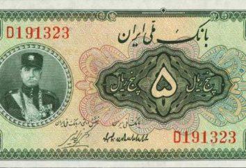 Iranian Rial: história, padrões e curso