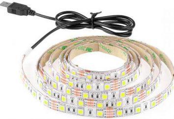 LED-Streifen 5050: Spezifikationen, Beschreibung, Anwendung