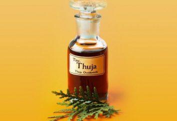 aceite de Tui con la sinusitis: opiniones, instrucciones de uso y eficiencia