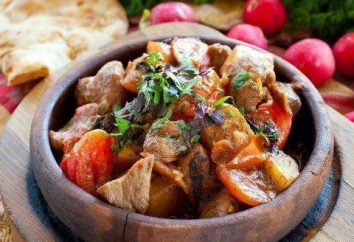 Odzhahuri – recette géorgienne. Recette odzhahuri dans une poêle à frire