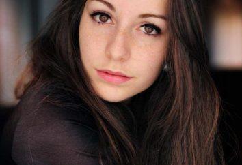 Piękne brązowe oczy brunetki: cechy i zalecenia