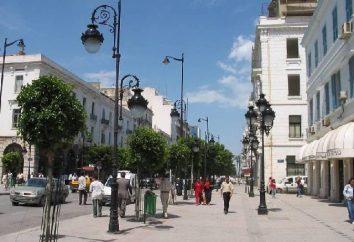 Capitale de la Tunisie Tunis-