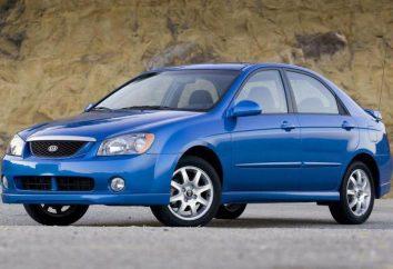 """Visão geral do carro """"KIA-Spectra"""": especificações técnicas, design"""