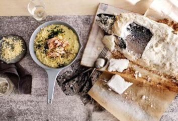 Peixe em sal no forno – receita