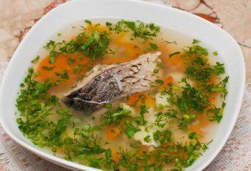 zuppa di pesce con miglio: ricette