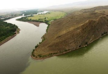 Ienisseï rivière: caractéristiques et description. La chute et la pente de la rivière Ienisseï