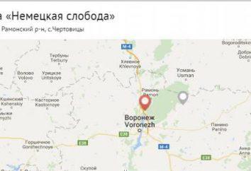 """Voronezh, centro de recreação """"colonização alemã"""": a descrição, características, localização e comentários"""