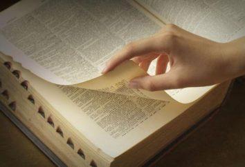 Jako słownictwa języka rosyjskiego: wskazówki