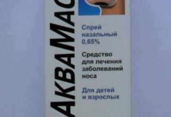 """""""AkvaMaster"""" (spray do nosa) instrukcje użytkowania, prawdziwe"""