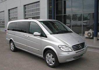 """Neu gestalteter Minivan """"Mercedes Viano"""" im Jahr 2011 produziert"""