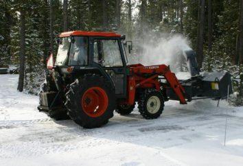 Rotary śnieg snowplow: cechy i zdjęcia