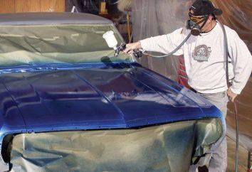Comment peindre la voiture à la maison? conseils utiles