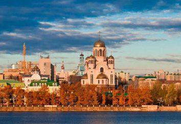Jekaterynburg Świątynie: adresy, zdjęcia i historię