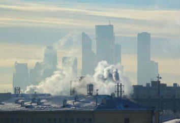 Piante in Mosca. Le imprese industriali della città