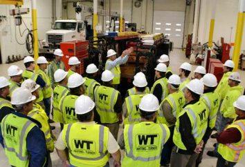 Briefings sur la santé et la sécurité au travail. Sécurité et santé