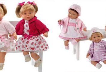 """Doll """"Lawrence"""" e diz chorando como um bebê. Descrição, comentários"""