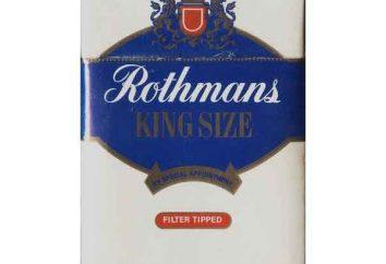 """Zigaretten """"Rothmans"""" – Englisch Qualität zu einem erschwinglichen Preis"""