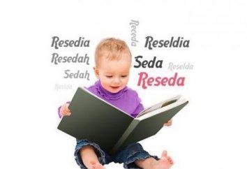 Imię Reseda: pochodzenie, wartość