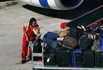 """""""Aeroflot"""". la reglamentación del transporte: el equipaje"""
