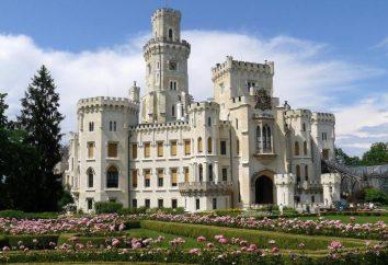 Castelo de Hluboka: história e fotos