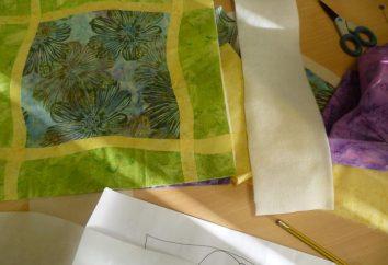 """Técnica """"chenille"""": idéias de aplicação. Costura de patchwork. Esquemas, fotos, descrição"""