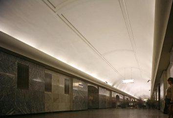 """La estación de metro famosa """"estanques puro"""""""