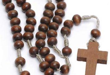 chapelet orthodoxe – un symbole de la foi et de la décoration