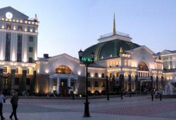 Gdzie pojechać w Krasnojarsku do turystów: lista ciekawych zabytków miasta