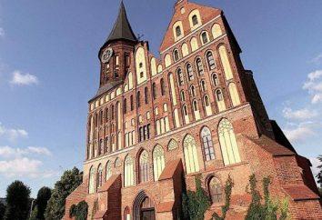 Catedral em Kaliningrad. que fazer em Kaliningrad