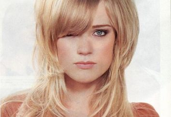 Wählen Sie Frisuren für feines Haar von mittlerer Länge