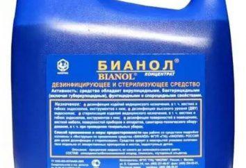 """Lek """"Bianol"""": instrukcje użytkowania"""
