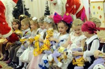 Was könnte das neue Jahr im Kindergarten sein