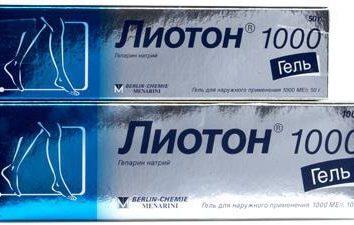 """""""Lioton"""" lub """"Troxevasin"""" – co jest lepsze? Opis przygotowań, aplikacja, cena"""