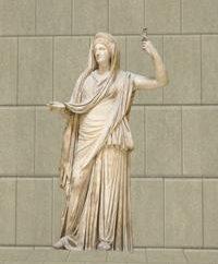 Quem são eles – a antiga deusa da Grécia?