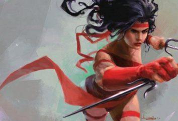 Las Crónicas de Marvel. Electra Nachios es un ninja femenino