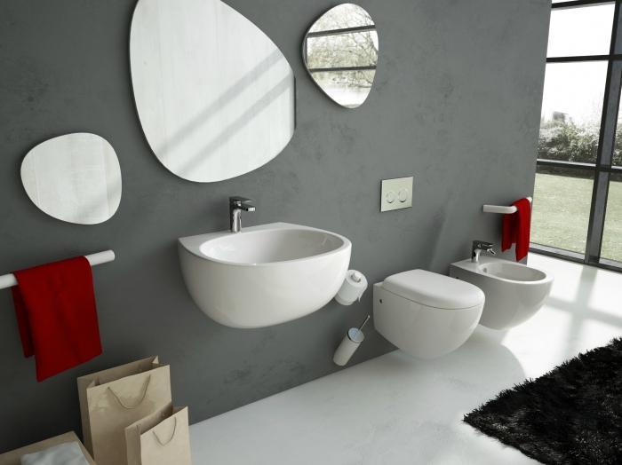 Hänge wc modern ästhetisch ansprechend hygienisch