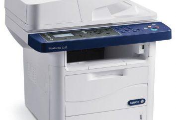 Xerox 3325: specyfikacje, instrukcje, opinie