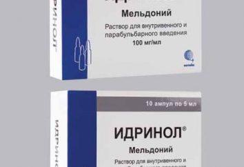 """""""Idrinol"""": instrukcje użytkowania. Opinie, ceny, opisy przygotowania"""