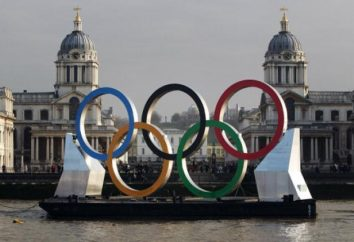 Anneaux des Jeux Olympiques que cela veut dire? L'emblème des Jeux olympiques – anneaux. symbole olympique – anneau