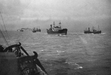 El primer convoy del Ártico en la historia