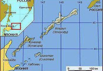 isole Curili del Sud: storia, affiliazione
