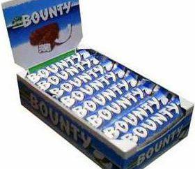 """""""Bounty"""", de chocolate: estrutura, benefícios. É possível cozinhar em casa?"""