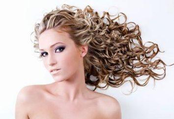 Loki na włosach średniej: jak tworzyć piękne loki w domu