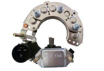 Sprawdzanie diody mostka multimetru bez usuwania generator