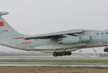 Ciężki wojskowy samolot transportowy Ił-76TD: Dane techniczne