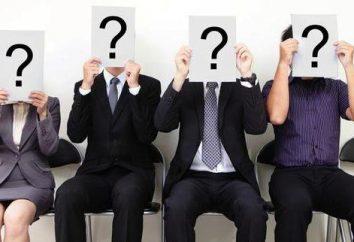 Techniki psychologiczne przy zatrudnianiu. Wywiad, badanie, testowanie