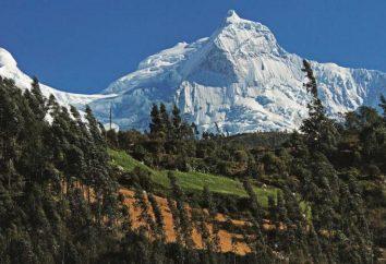 América del Sur: la geografía, la ciudad, especialmente la población de Perú