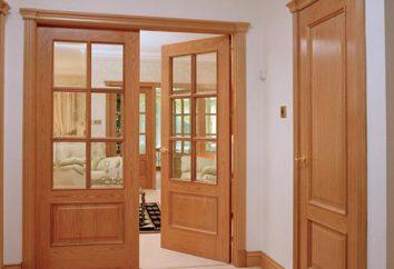 Portes intérieures: les dimensions d'une boîte. Dimensions des portes cadres de portes intérieures