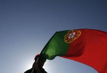 Portugal-Flagge, seine Bedeutung, Geschichte des Auftretens
