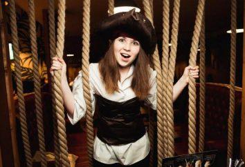"bar Kebab ""marina Pirate"" à Moscou: pirates drôles sur l'Arbat"